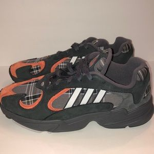 Adidas Yung-1 Plaid Running Shoes